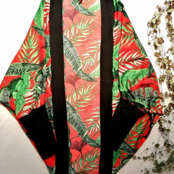 Cocoon Cardigan – Tropical